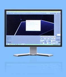 Monitor, modellazione tridimensionale
