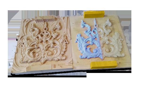 Restauro di beni architettonici in stampa 3D