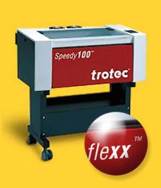 Macchina taglio laser Trotec Speedy 100 Flex