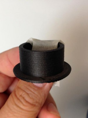 Filamento caricato fibra di carbonio